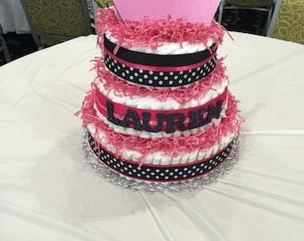 Customizable Diaper Cake