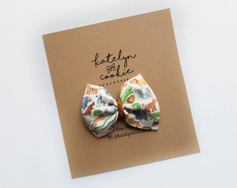 Sun Kissed collection -take me to the Zoo {Harper}//baby bow//toddler bow