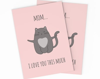 Printable Mother S Day Card Digital Mothers Day Card Etsy