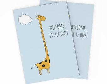 Printable baby card