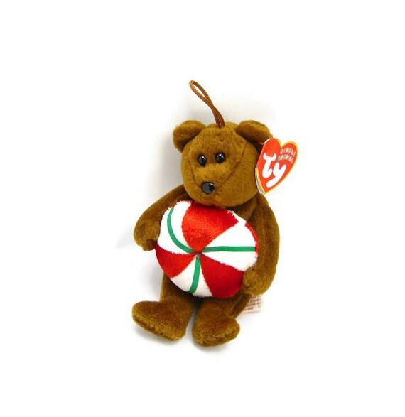 New Vintage Yummy Beanie Bear By Ty Vintage Etsy