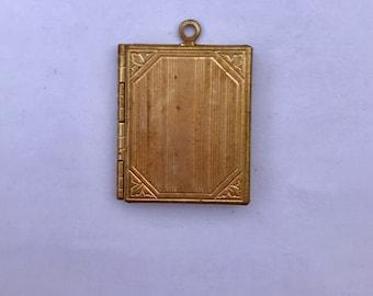 Mini book locket