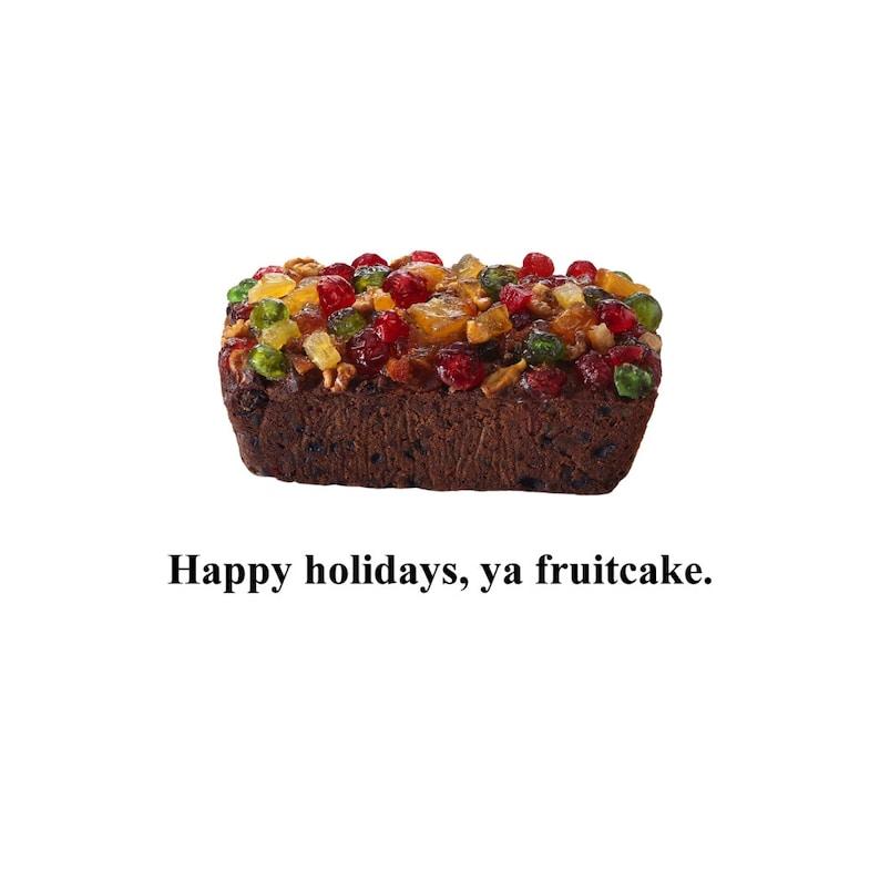 Greeting Card  Fruitcake image 0