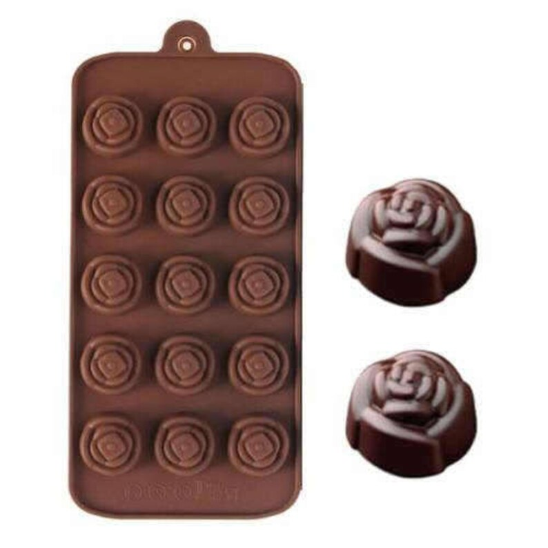 Rose Flower  Silicone DIY Mold to make Soap Candle Chocolate Candy Tray Mold ICE Party maker  mould
