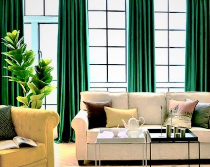 Velvet Curtains, Curtains for Living Room, Custom Drapery, Curtain Panels, Modern Home, Blackout Curtain, Home Decorations, Home Decor, Room