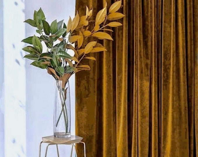 Velvet Curtains, Custom Window Curtain Panels, Curtains for Living Room, Curtains, Curtain Panels, Blackout Curtains, Dining Room Curtains