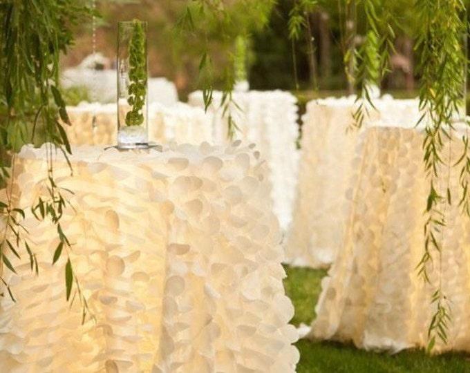 Wedding tablecloth, Table cloth, Wedding decor, Baby shower tablecloth, Table overlay, Hollywood party,wedding table cloth,white table cloth