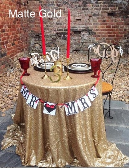 All Colors Sequin Table Cloth Gold Sequin Tablecloth Table Overlay