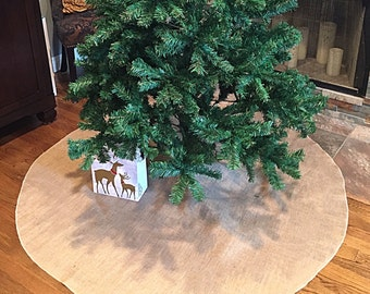 Tree skirt, Christmas tree skirt, tree skirt, burlap Christmas tree skirt, burlap tree skirt, Christmas decor, tree skirt, burlap, rustic
