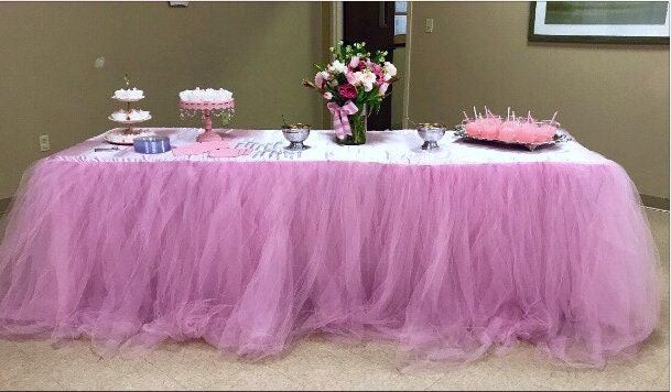 Sale Tulle Tutu Tablecloth Baby Shower Wedding