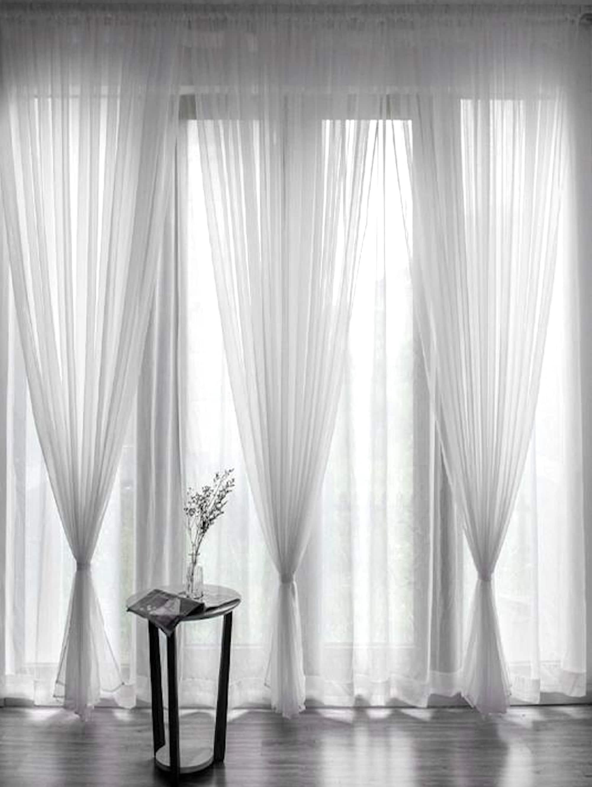 Voile Curtains Custom Window Curtain Panels Curtain Panels Sheer Curtains Dining Room Curtains Bedroom Curtains See Through Curtains
