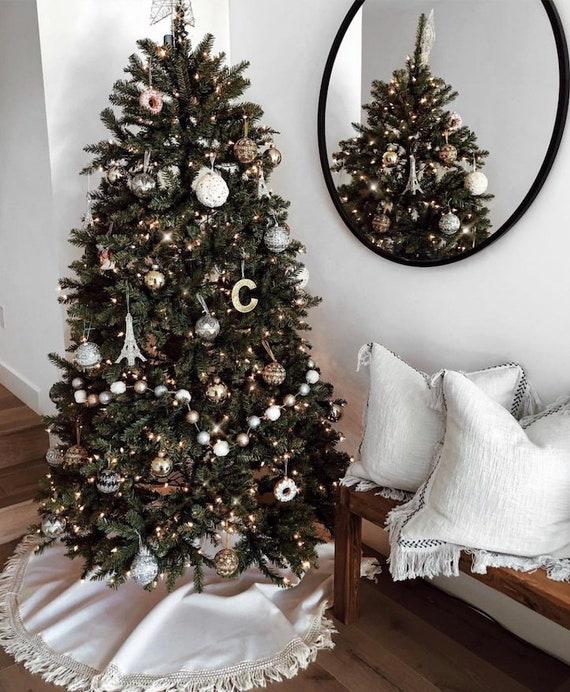 image 0 - Fringe Tree Skirt Christmas Tree Skirt Tree Skirt Burlap Etsy
