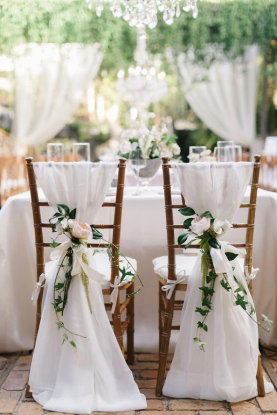 Sale 50 Chair Sashes Wedding Decor Wedding Chair Covers Etsy
