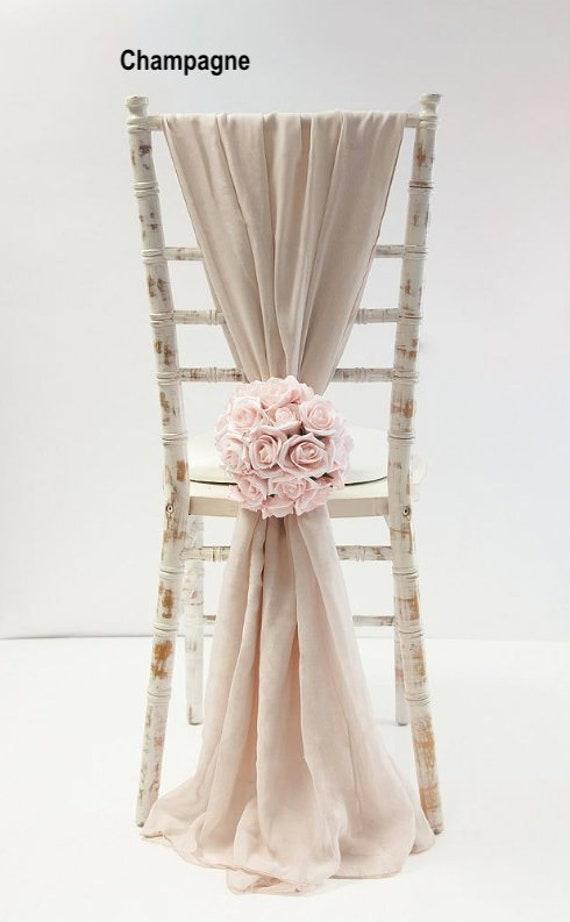 Fine Sale 50 Chair Sashes Wedding Decor Wedding Chair Covers Chair Sash Chiffon Chair Sash Wedding Chair Covers Chiavari Chair Cover Pdpeps Interior Chair Design Pdpepsorg