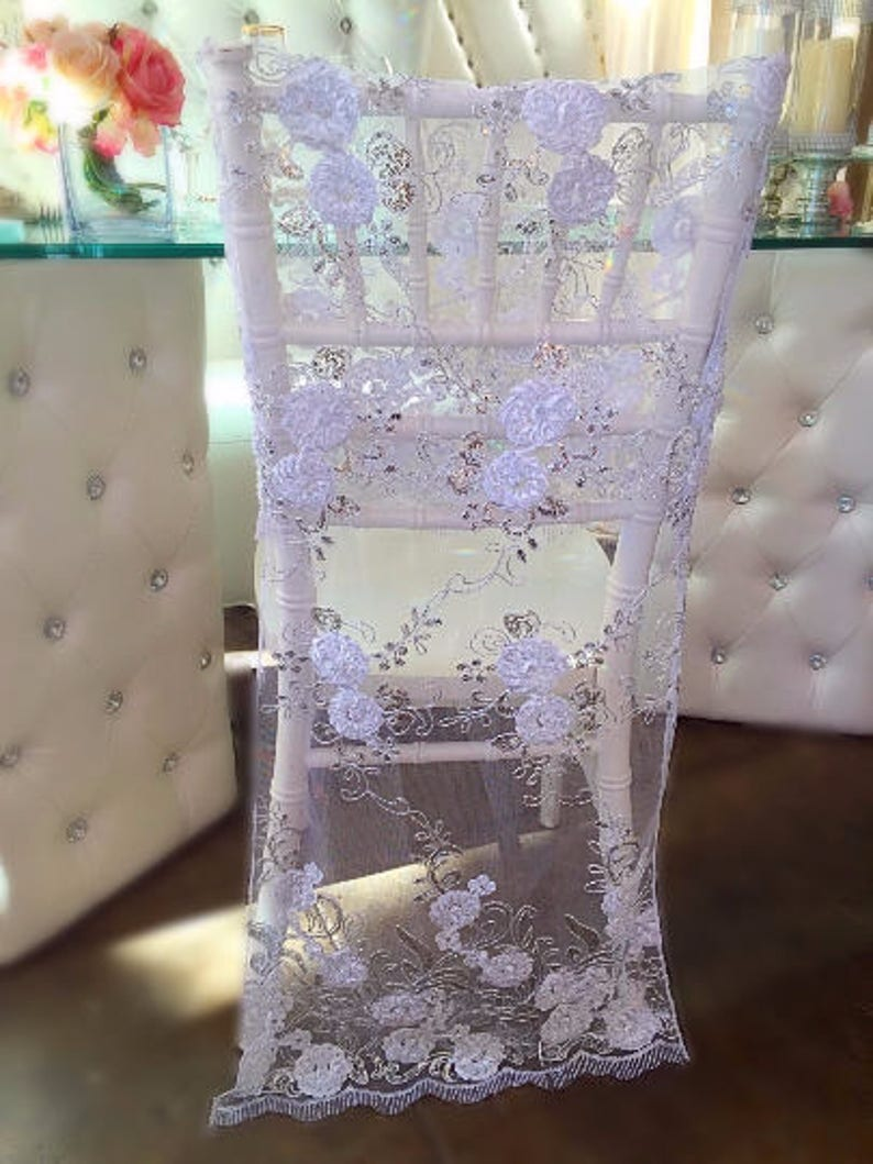Astonishing Bulk 10 Chair Covers Lace Chair Covers Wedding Chair Cover Embroidered Lace Lace Bridal Chair Full Length Wedding Decor Sale Download Free Architecture Designs Scobabritishbridgeorg