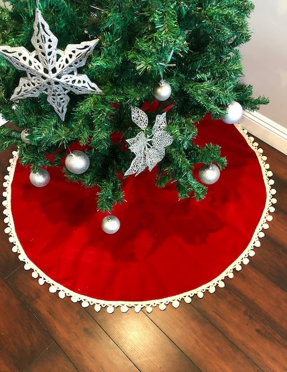velvet tree skirt tree skirt christmas tree skirt white etsy velvet tree skirt tree skirt christmas tree skirt white velvet tree skirt red velvet christmas decor home decor holiday christmas