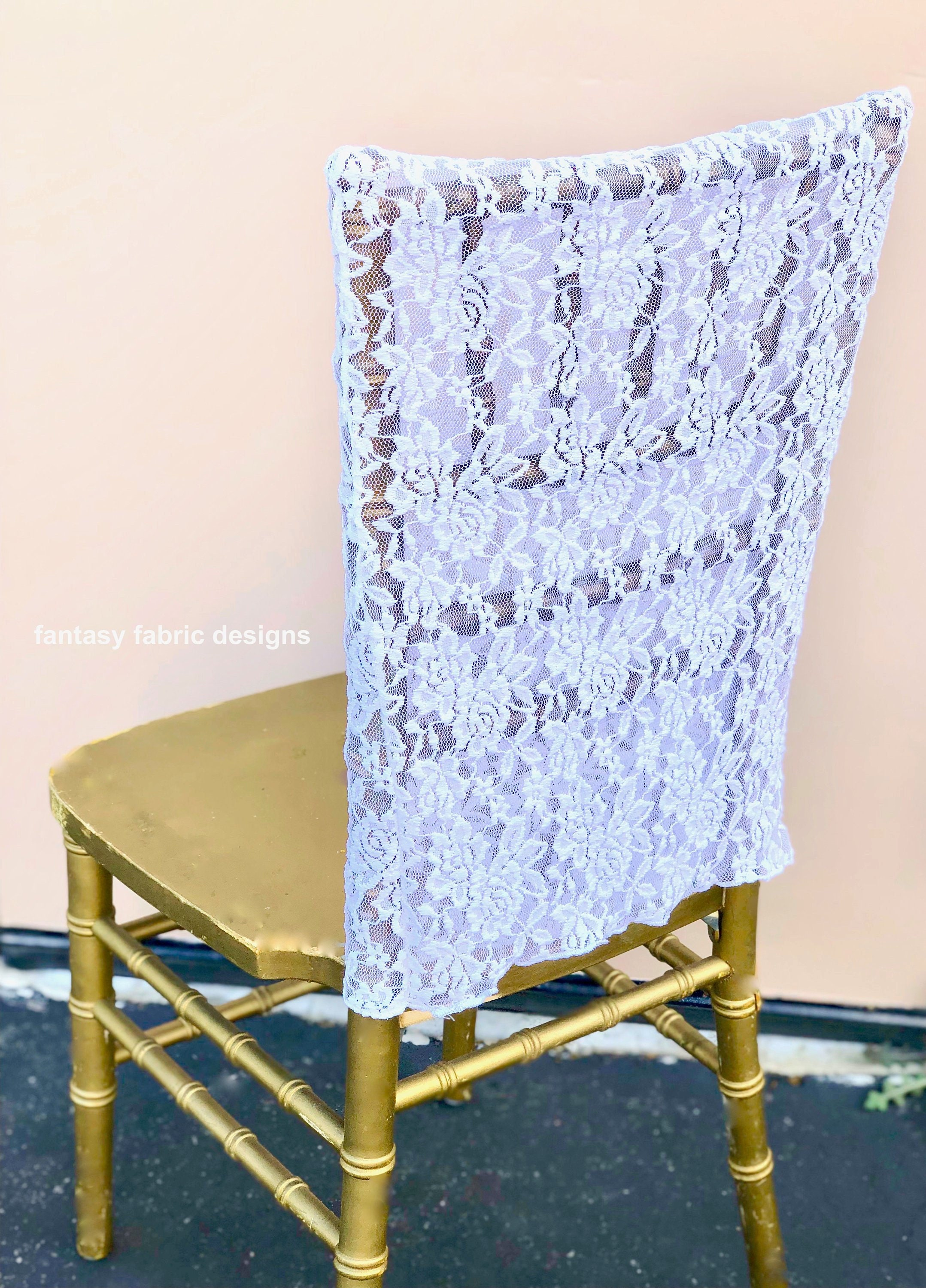 Surprising Sale 10 Lace Chair Covers Wedding Decor Wedding Chair Pdpeps Interior Chair Design Pdpepsorg