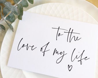 Groom To Bride Card Etsy