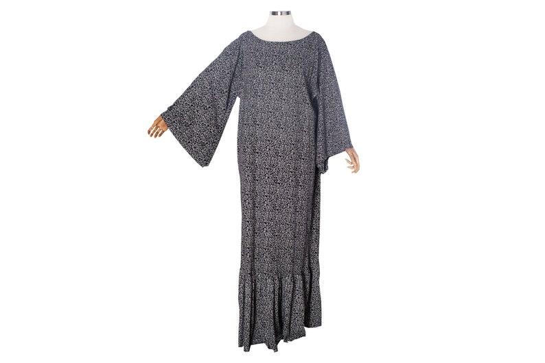 1ea624751cc9c SALE-Floral kaftan dress maxi caftan dress Loose cotton casual | Etsy