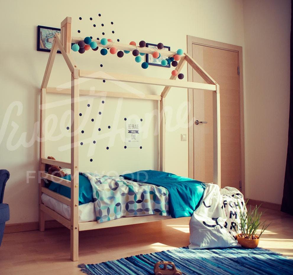 EXPRESS-Versand US 39 x 75 Kinder Bett Rahmen Bett | Etsy