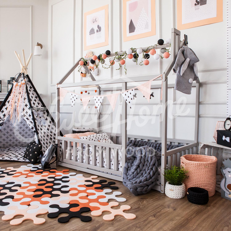 Kleinkind Möbel Tipi Kinder Bett voller home / doppelte Größe | Etsy