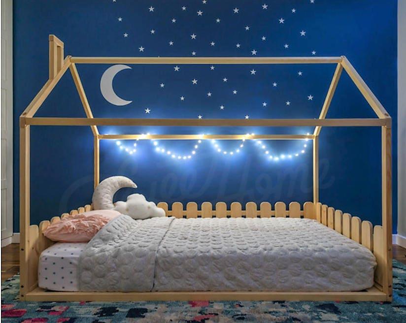 Kleinkind-Bettrahmen FULL/DOUBLE Frame Bett | Etsy