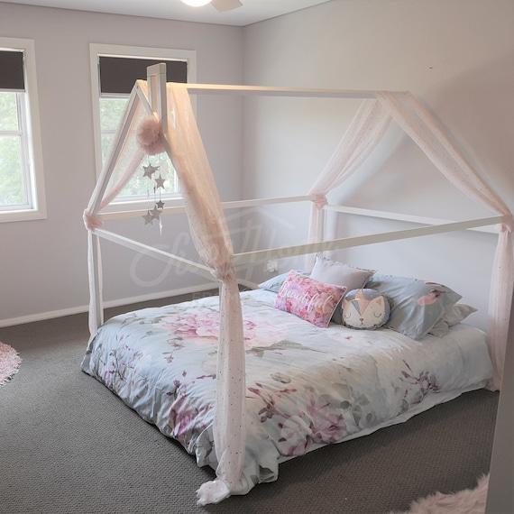 Wooden Toddler Bed Frame.Wood Bed Full Double Toddler Bed Frame Tent Bed Wooden House Bed Frame Wood Nursery Bed House Baby Bed Wood Bed Kids Bed Gift Slats