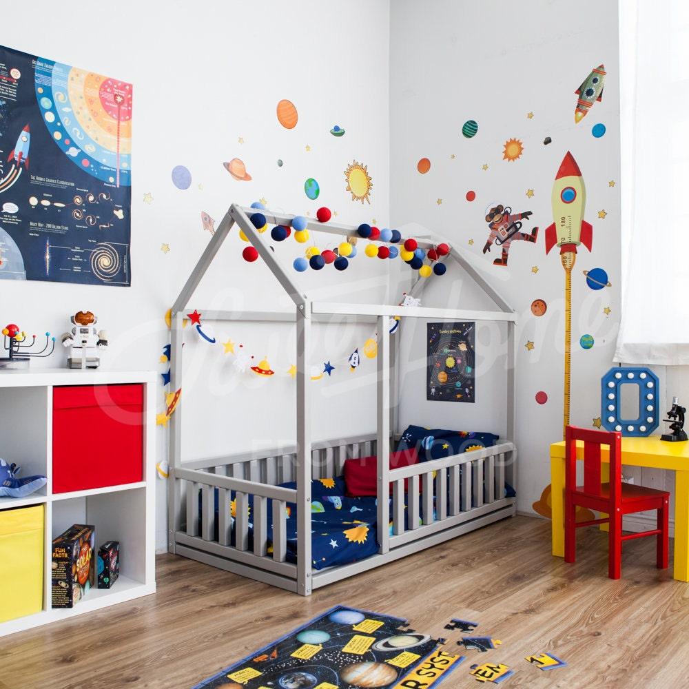 Skandinavisches Design Baby Zimmer innen Babybett oder | Etsy