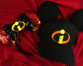 The Incredibles His and hers Ears and Hat bae15a97ba0b