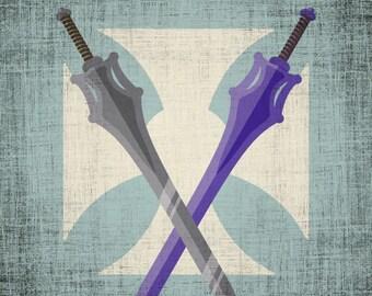 He-Man Sword of Power - Cartoon Hero Swords - Multiple Color Options