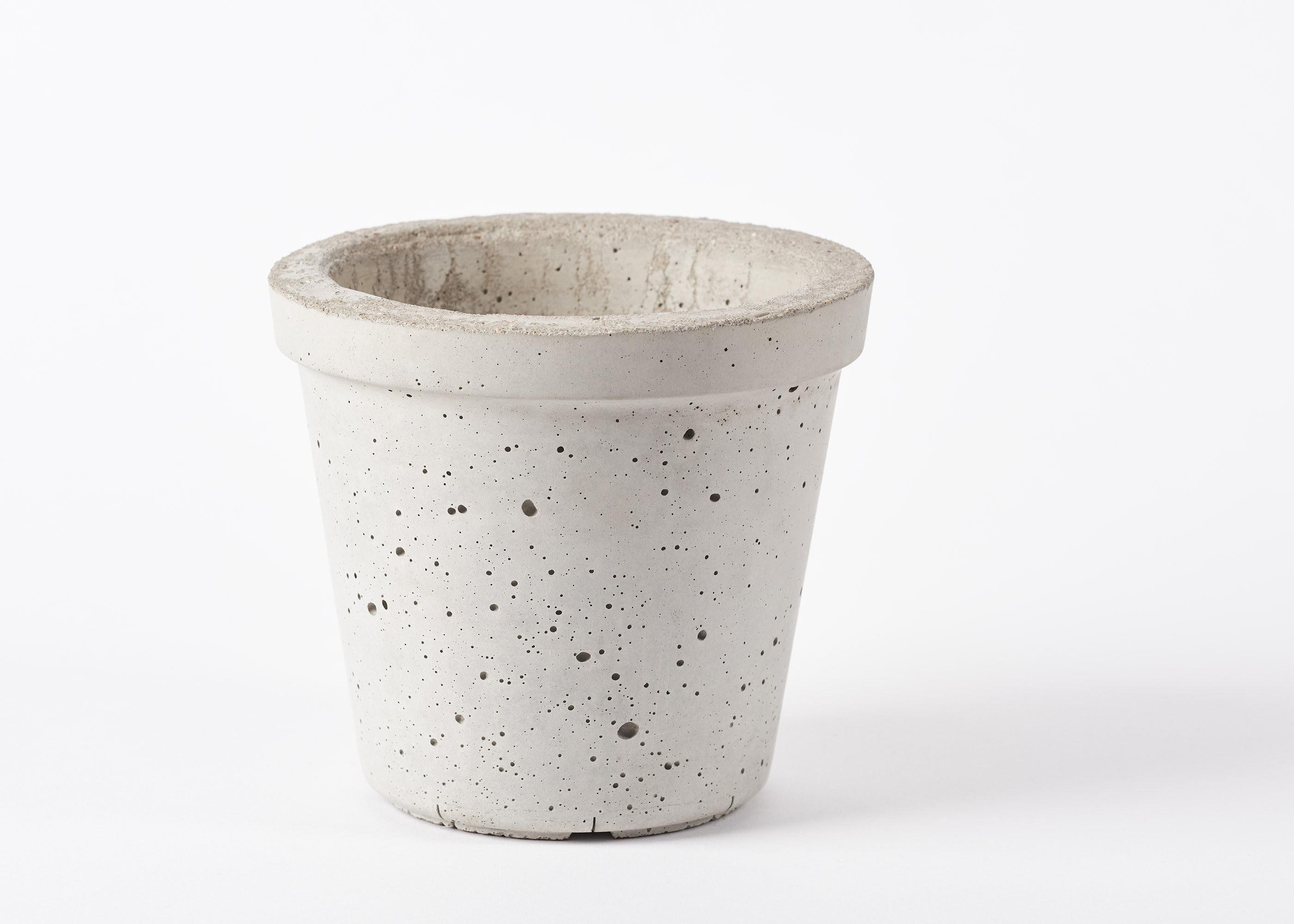 beton Übertopf concrete planter für pflanzen die | etsy