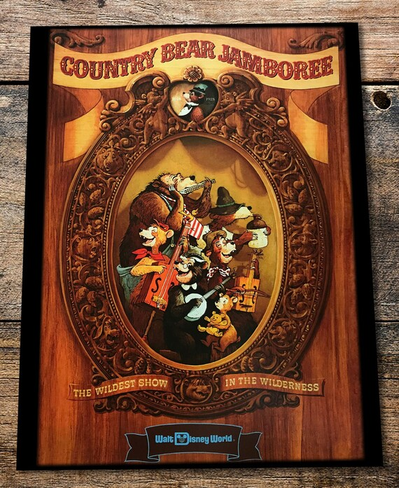 Vintage and Retro Disney Wood Art Saratoga Springs resort Mickey Mouse WDW