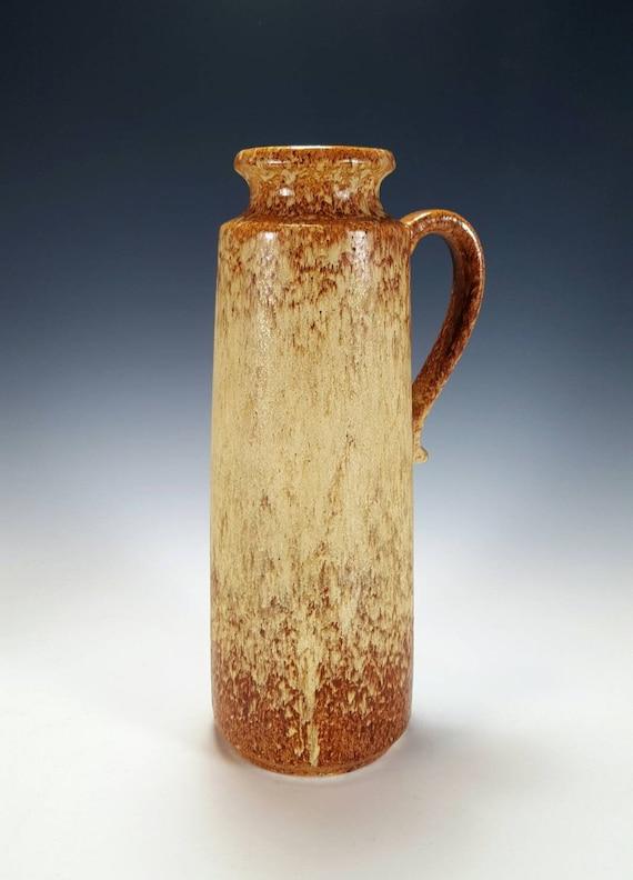 Brown Vase Mid Century Pottery Mid Century Art Pottery Ceramic Vase Vintage Pottery