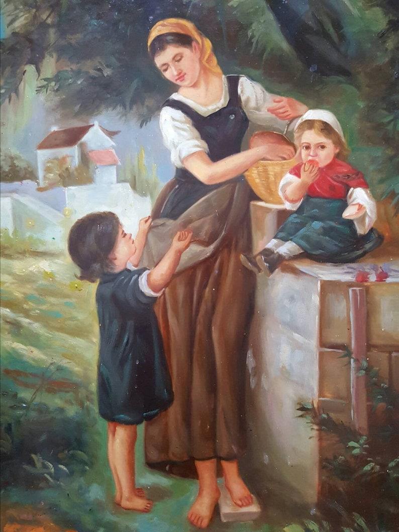 ich besuche meine oma im altersheim
