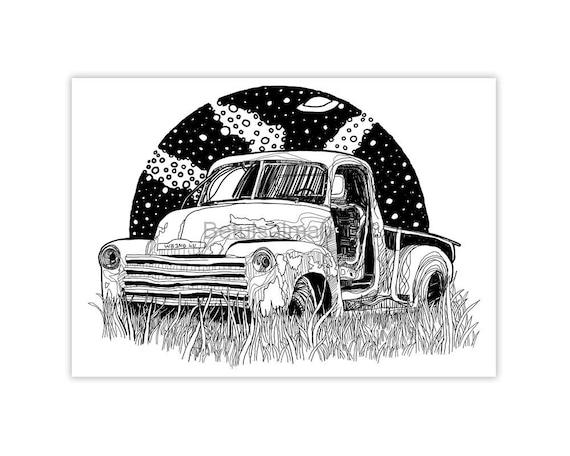 voorkant een auto tekenen