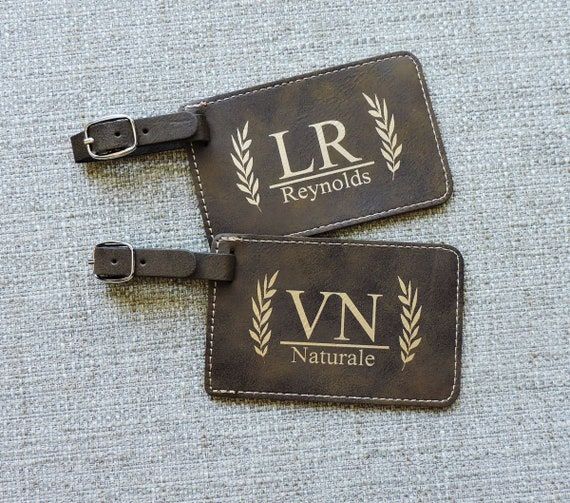 914157fe81ee Luggage Tag personalized Rustic Luggage Tags, Monogramed luggage tags, bag  tags