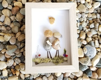 Expecting Congratulations Patents Pebble Art Rock New Baby Congrats Shower Gift Pregnancy Announces