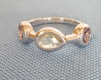 Dbj sterling silver ring