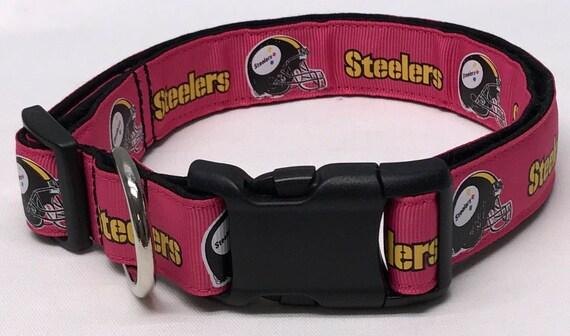 dog collar pink Pittsburgh steelers Pittsburgh steelers  159ec9290
