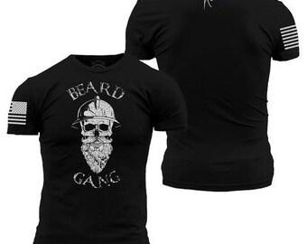 28bc53d8 Beard Gang Grunt Style Mens Tee