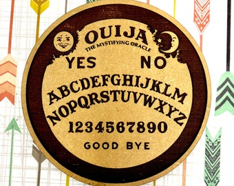 Ouija Board Coasters Set, FREE SHIPPING  & Bulk Discounts