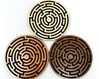 Labyrinth Maze Round Incense Holder, FREE SHIPPING
