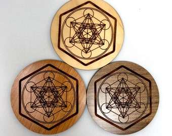 Metatron's Cube Sacred Geometry Incense Holder, FREE SHIPPING
