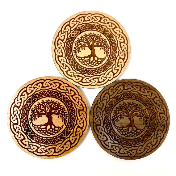 Tree of Life Celtic Knot Design Incense Stick Holder - FREE SHIPPING
