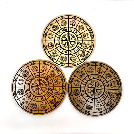 Astrology Star Sign Wheel Incense Stick Holder - FREE SHIPPING