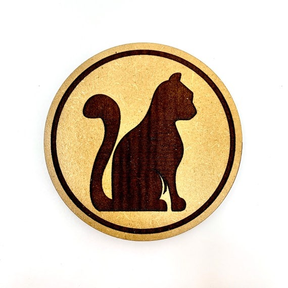 Cat Drink Coasters Set, FREE SHIPPING