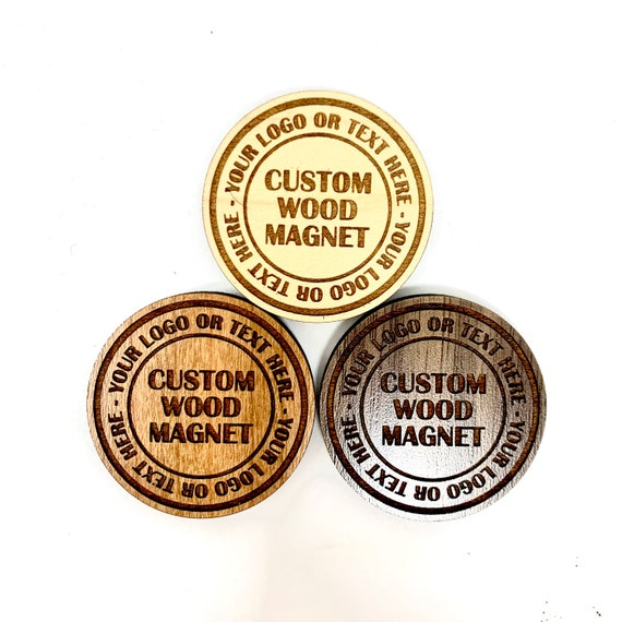 Custom Wood Fridge Magnets: strong ceramic magnet FREE SHIPPING