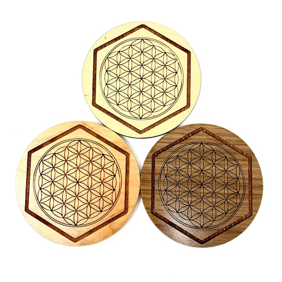 Flower of Life Sacred Geometry Incense Stick Holder - FREE SHIPPING