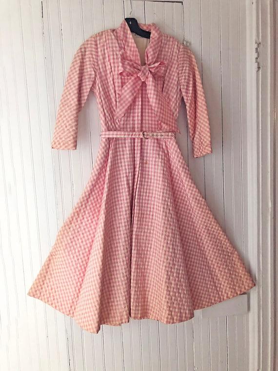 Vintage circa 1950 Dressing Gown
