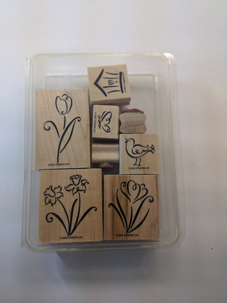 Stampin' Up Unnamed Nature Inspired Gently Used Mounted image 0